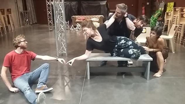 Spectacle de fin d'année par le cours de théâtre adultes - A Villefontaine (Isère) @ Espace Jacques Prévert